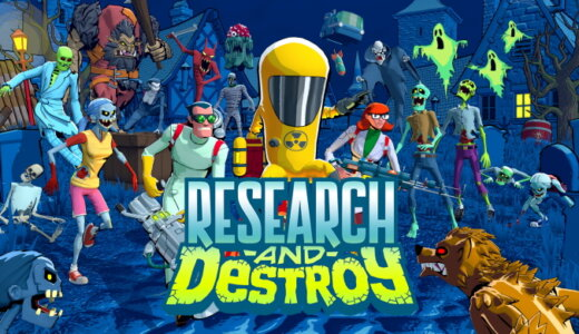 RESEARCH and DESTROY (リサーチアンドデストロイ)【動画】