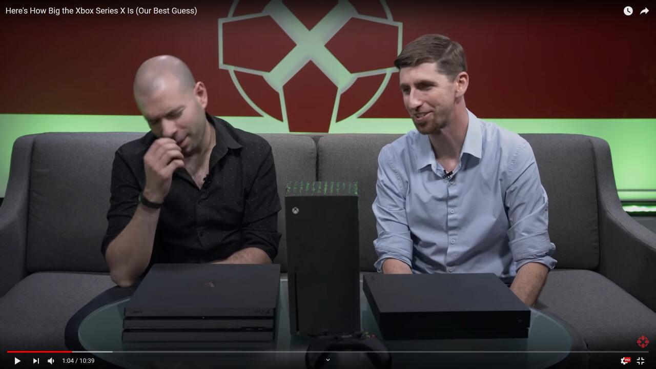 Xbox Series X 大きさ 比較2