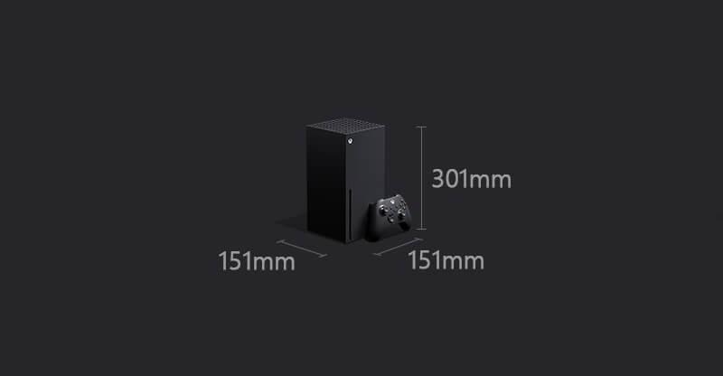 Xbox Series X 本体の大きさ サイズ詳細